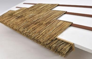 PVC 초가지붕재 (볏집문양)