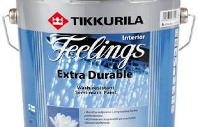 티쿠릴라 제품소개 2. 인테리어용 페인트 Feeling Extra Durable